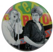 Sex Pistols - 'Johnny & Steve' Button Badge